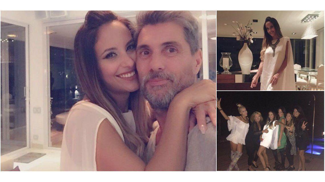 El divertido festejo de cumpleaños de Lourdes Sánchez: karaoke y romántico mensaje del Chato Prada