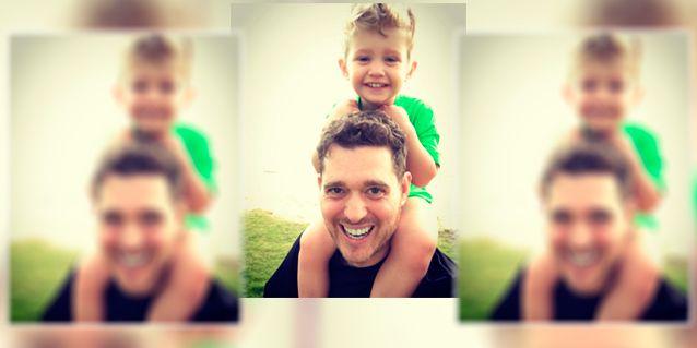El tierno mensaje de Michael Bublé a su hijo Noah: Estoy publicando mi todo