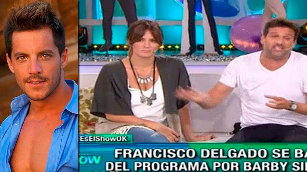 Francisco Delgado dejó plantado a Este es el Show: el descargo furioso de José María