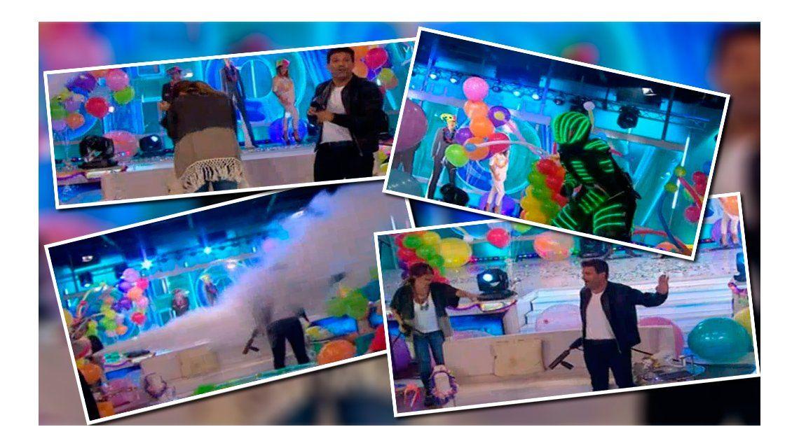 José María y su desopilante cumpleaños en Este es el show: marcianos, imitadores y descontrol