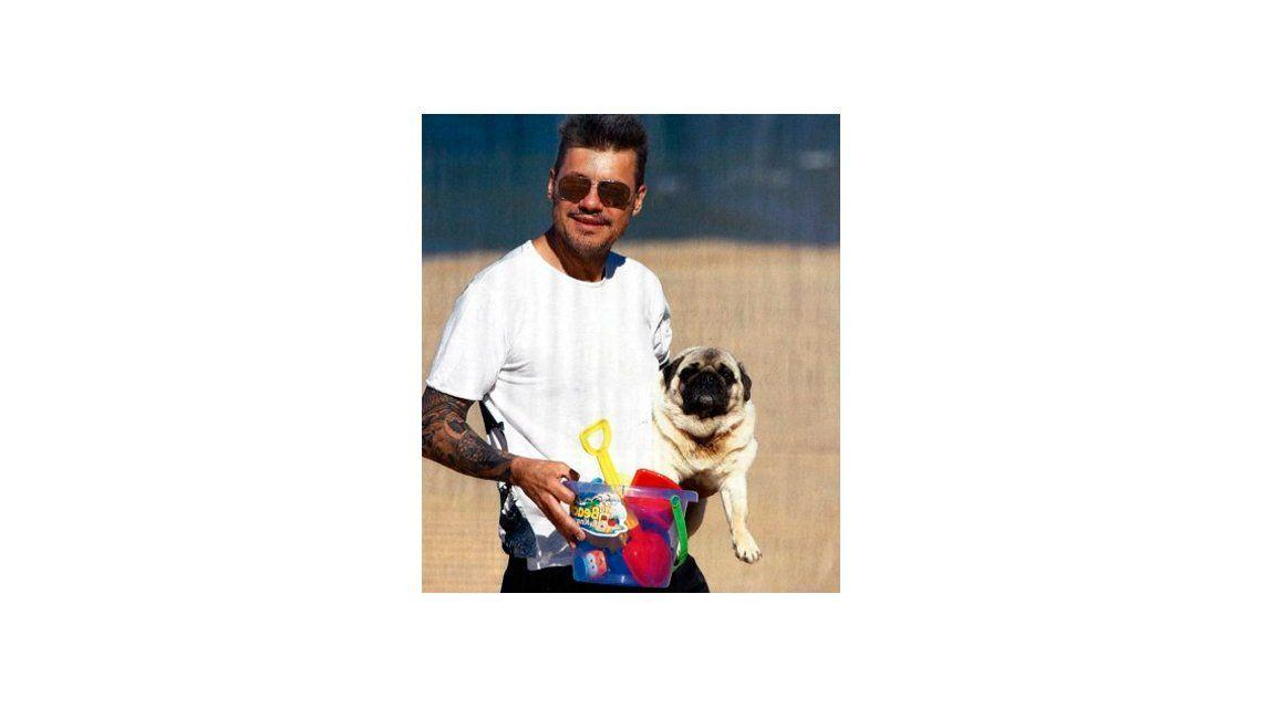 Los mejores amigos de los famosos, en fotos: desde Hugo, el perro de Marcelo Tinelli a Ayton, el golden de Nacho Viale