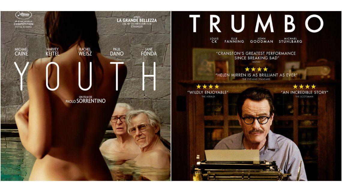 Youth y Trumbo, los estrenos de cine de esta semana