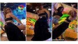 ¡Adiós sensualidad! Tremendo golpe de Mariana Brey mientras bailaba reggaetón