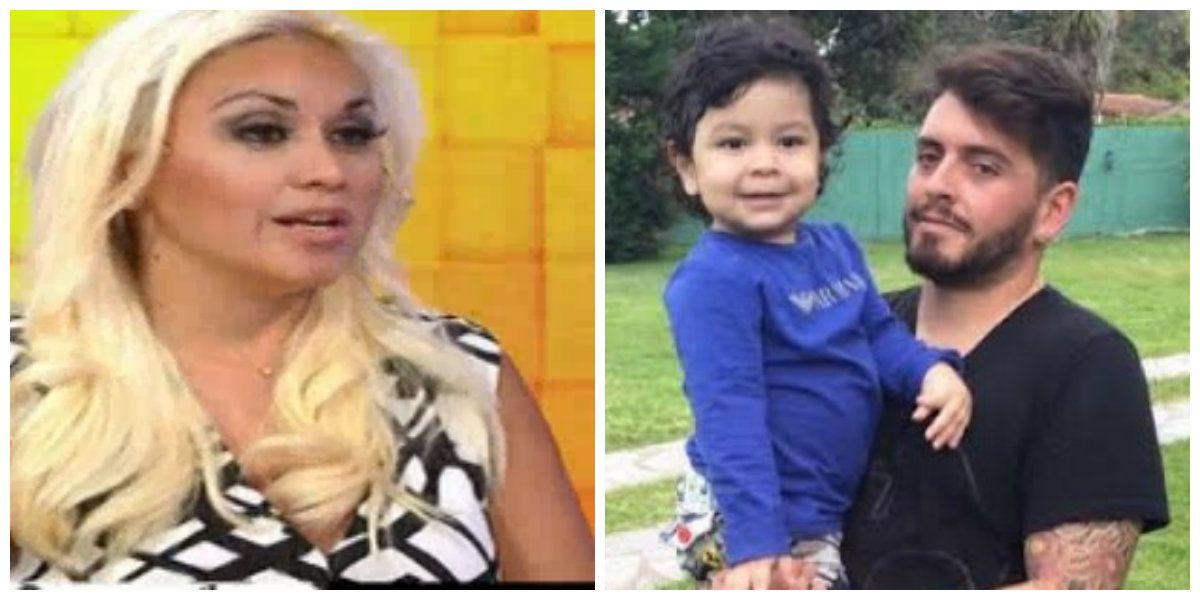 Verónica Ojeda contó la historia detrás de la foto de Dieguito con Diego Junior