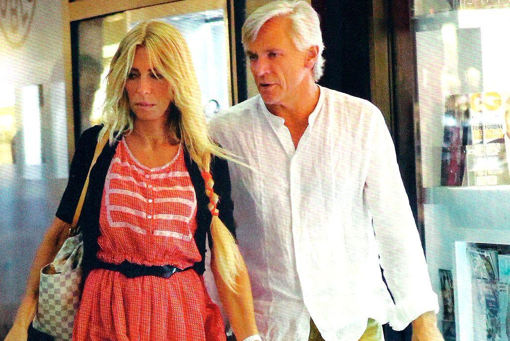 Cris Morena, de paseo con su nuevo novio en Miami