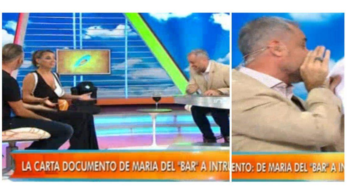 Desopilante conversación entre Rial y los panelistas de Intrusos tras leer una carta documento de María del Mar Cuello