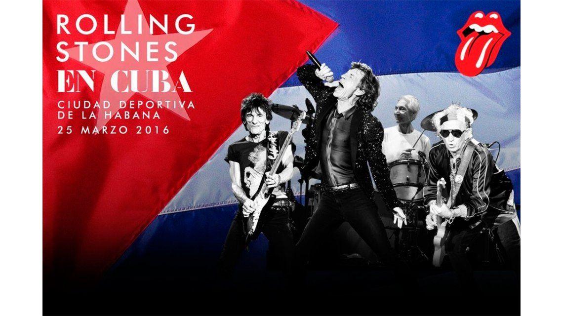 Los Rolling Stones harán un concierto gratuito en Cuba