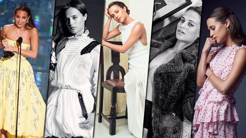 Quién es Alicia Vikander, la sueca que conquistó Hollywood y ganó un Oscar