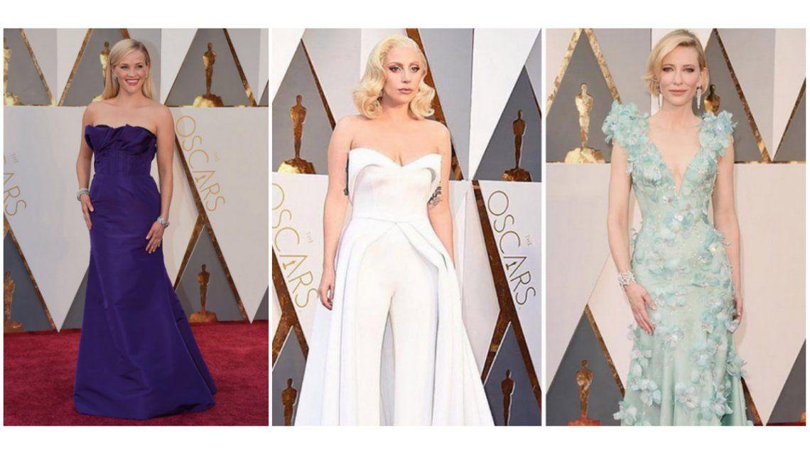 Oscar 2016: los looks más elegantes de la alfombra roja