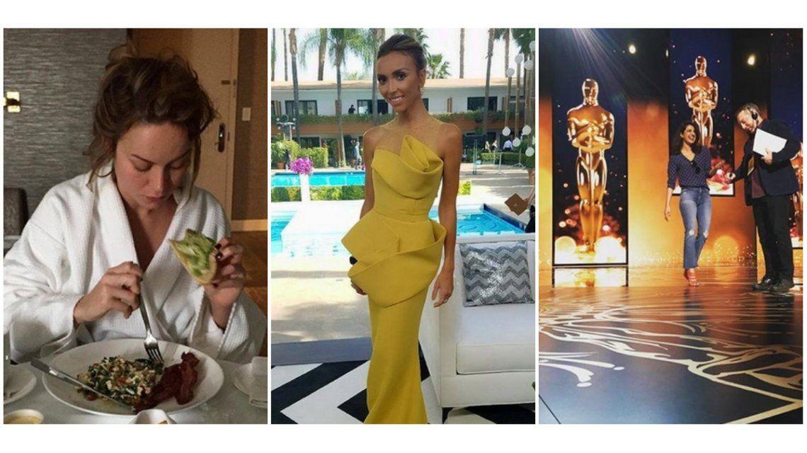 Así se prepararon las estrellas de Hollywood para la gran noche de los Oscar 2016