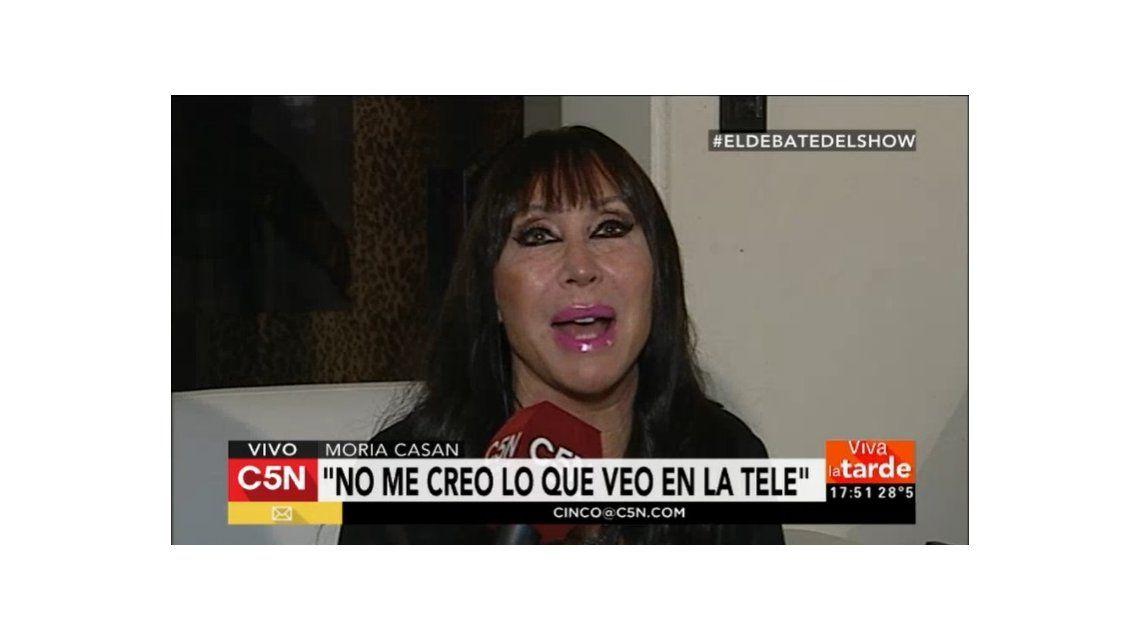 Moria Casán habló sobre la foto hot de Sofía Gala: Si eso lo califican de porno le diría que...