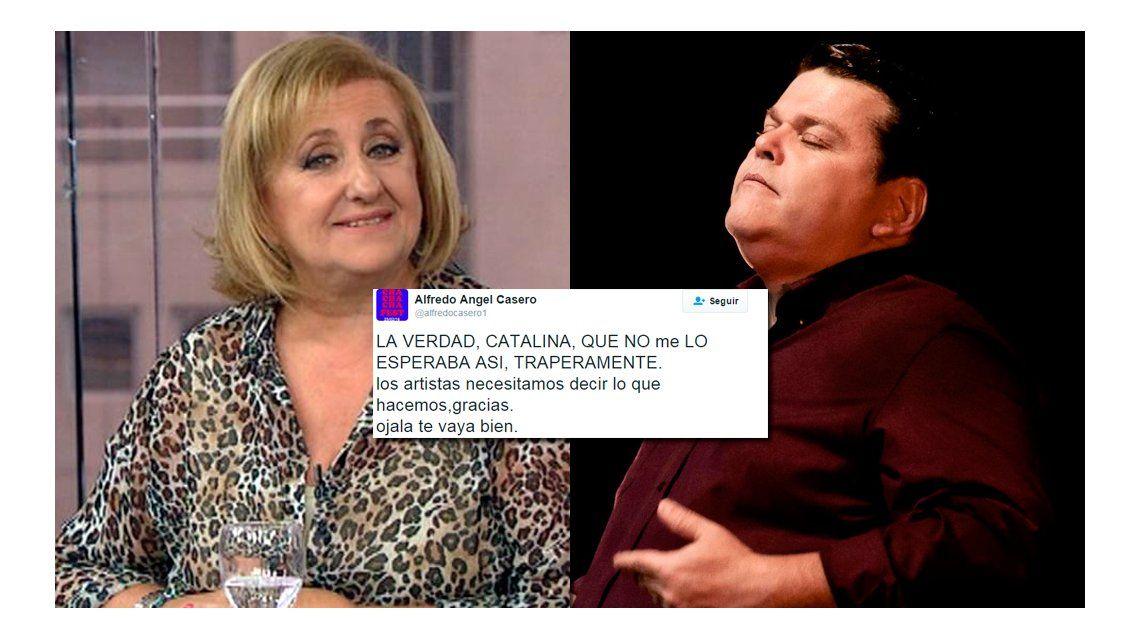 Catalina Dlugi le preguntó a Alfredo Casero si le habían sido infiel y él enfureció