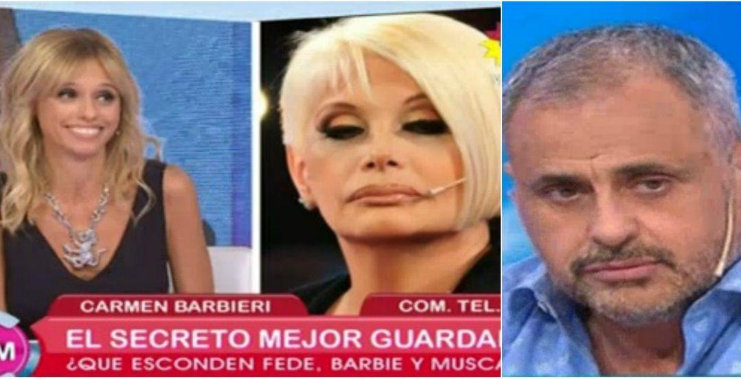 Carmen Barbieri confundió en vivo a Mariana Fabbiani con Jorge Rial: ¿Quién sos?