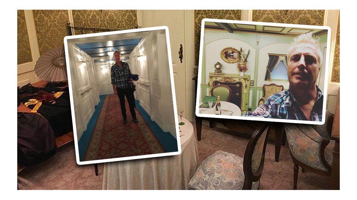 Las aventuras de Marley en el interior del Titanic: mirá las fotos