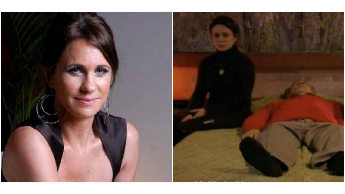 Nancy Dupláa, sobre el detrás de escena del emotivo momento de La Leona: Estábamos muy conmovidos