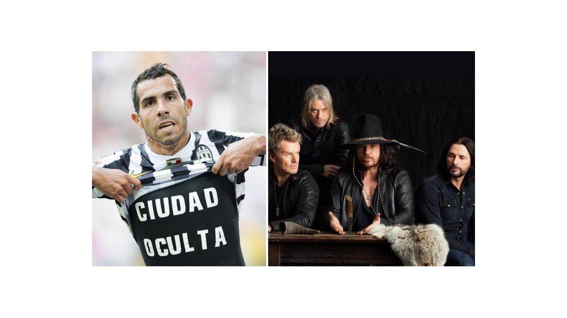 Carlos Tevez inspiró a The Cult, que le puso a su disco Ciudad oculta