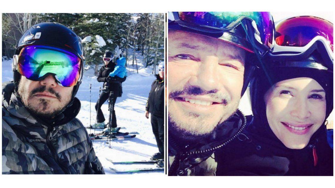 Marcelo Tinelli se relaja en Aspen antes del regreso de ShowMatch