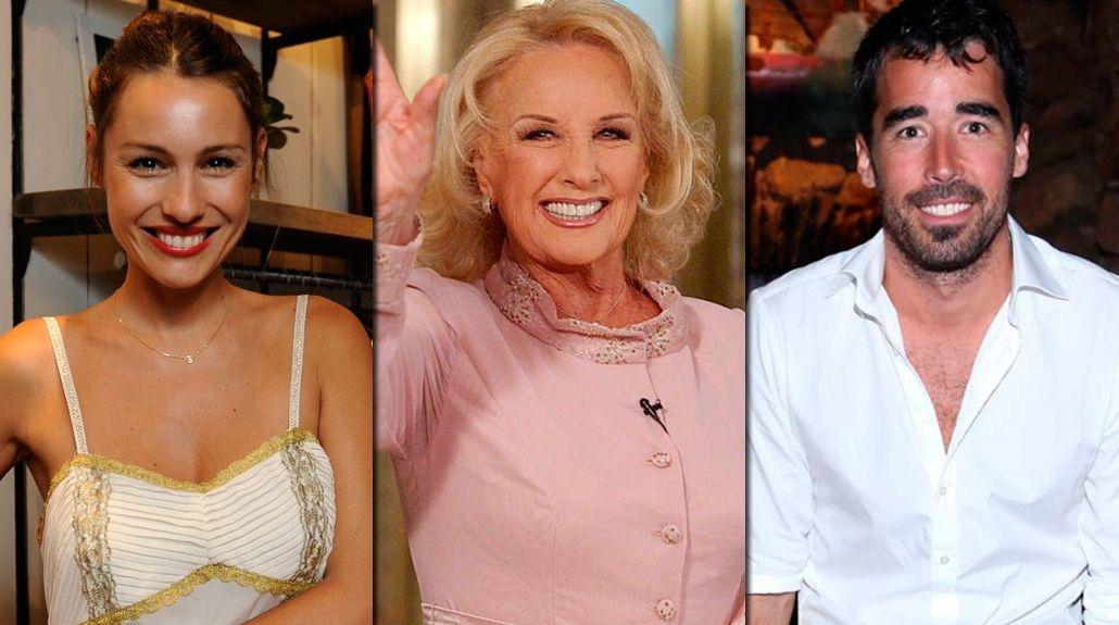 Mirtha Legrand no sabe guardar secretos: Nacho Viale está de novio con Pampita