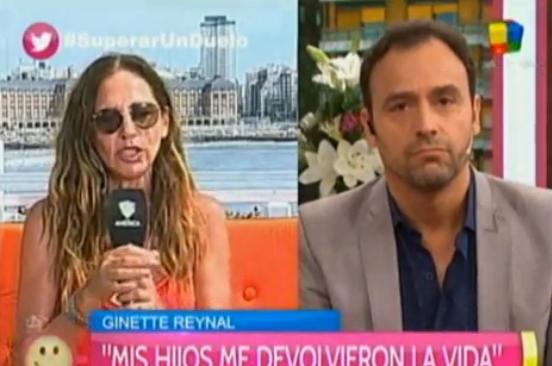 Tenso cruce entre Ginette Reynal y Adrián Pallares: No me sigas preguntando porque no te voy a responder