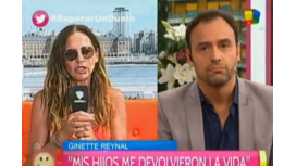 Tenso cruce en vivo entre Ginette Reynal y Pallares: No te voy a responder
