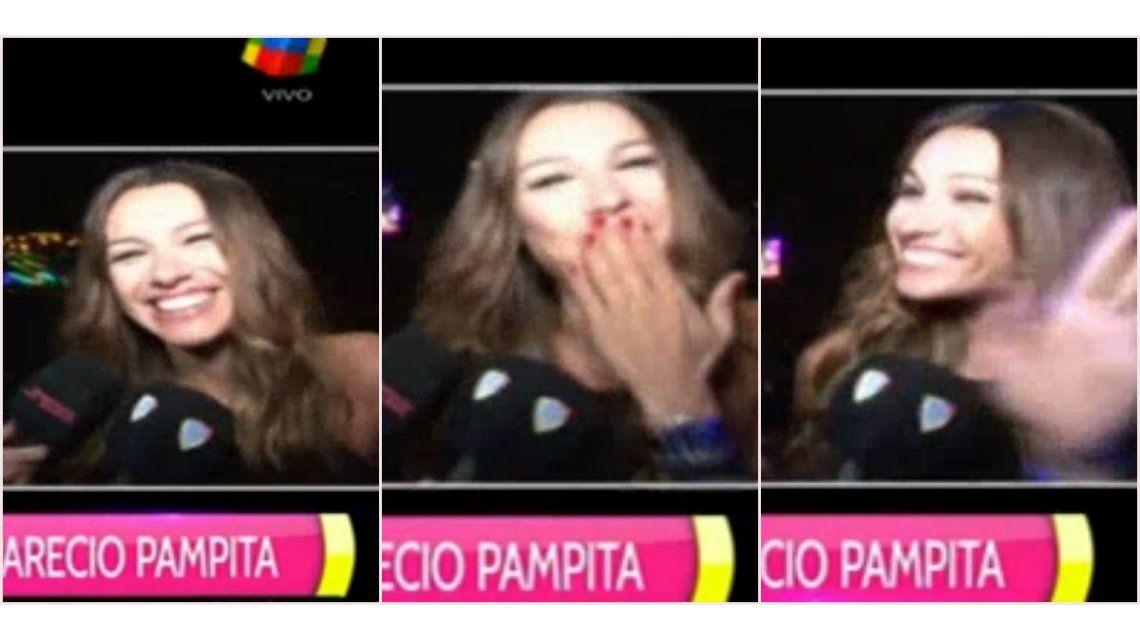 Video: los gestos de Pampita cuando le preguntaron si estaba de novia con Nacho Viale