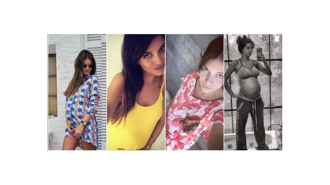 ¡Va creciendo la pancita! Zaira Nara disfruta de su embarazo de siete meses: conocé sus antojos