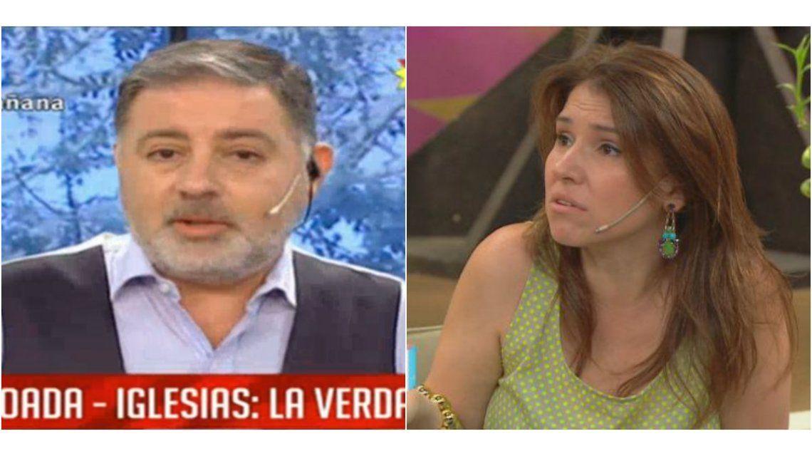 Escuchá la conversación telefónica entre Fabián Doman y Fernanda Iglesias tras la suspensión: Si vas vos, yo no voy