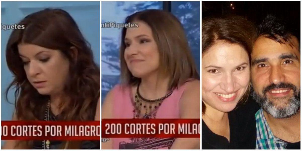 Qué le dijo el productor (pareja de Fernanda Iglesias) a Andrea Taboada en plena agresión