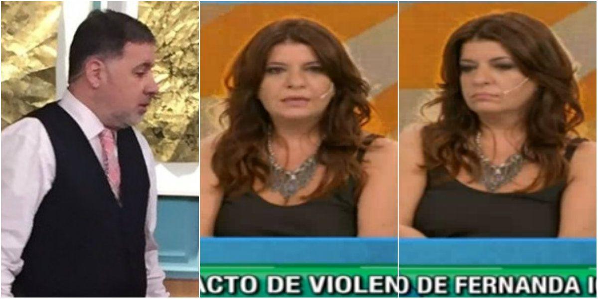 Fabián Doman repudió la agresión de Fernanda Iglesias, pero se cruzó con Andrea Taboada: ¿Crees que me hice el tonto?