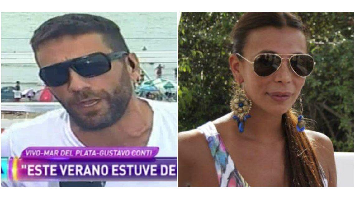 Gustavo Conti, sacado por la pelea con Ximena Capristo: Soy infumable, me pintó el mal humor y ella cree que se las sabe todas