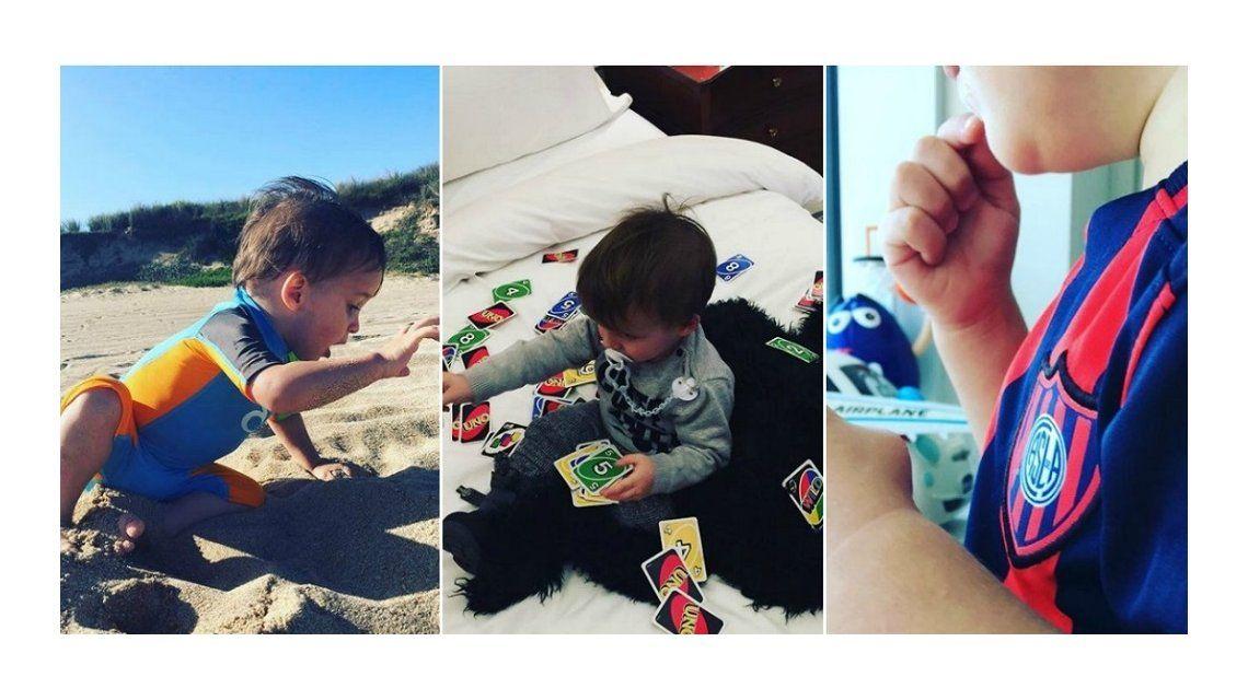 Lorenzo Tinelli llegó a Instagram con fotos inéditas