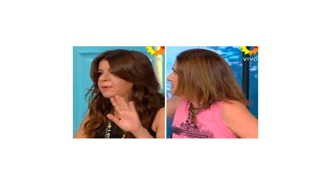 Escándalo al aire entre Andrea Taboada y Fernanda Iglesias: No me podés agredir, estás loca