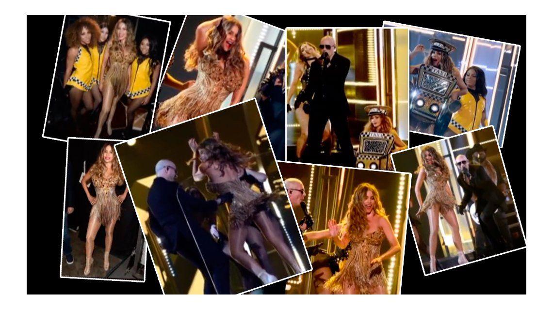 El baile sensual de Sofía Vergara que encendió los Grammys