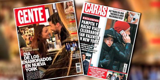 Las tapas románticas de Pampita y Nacho Viale: su festejo de San Valentín en Nueva York
