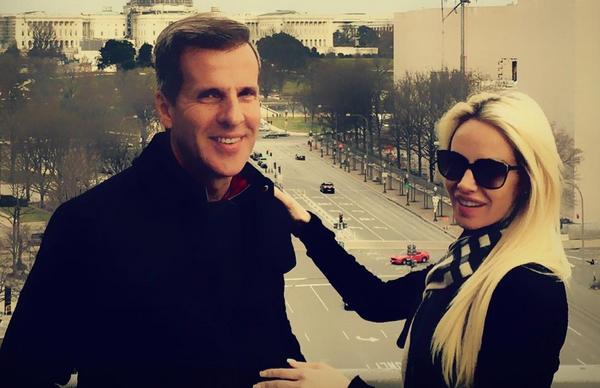Las fotos de Luciana Salazar, en Washington con Martín Redrado:  Nuestro amor siempre sobrevivió