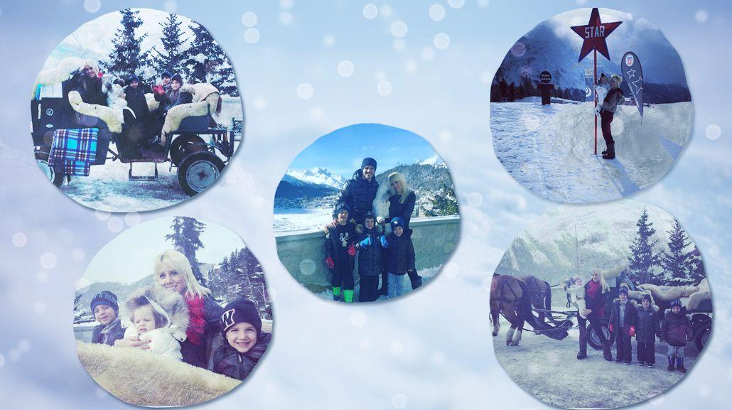 ¡Postales de película! Las vacaciones soñadas de Wanda Nara y Mauro Icardi con su familia en Suiza
