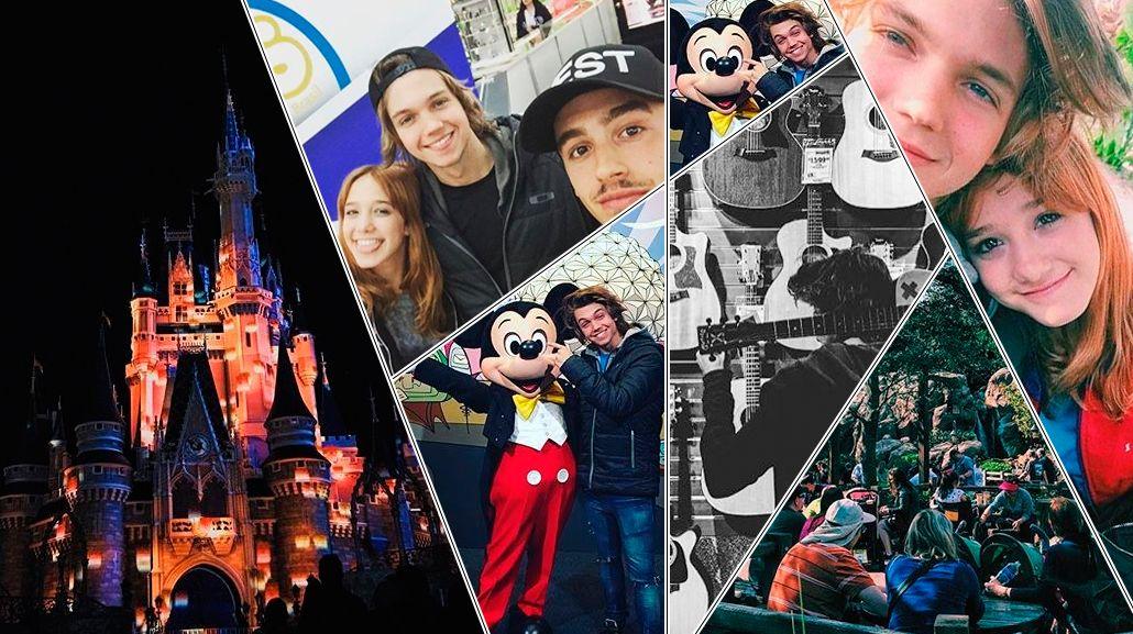 Ángela Torres, Franco Masini y Yeyito De Gregorio, en Disney: música, disfraces y divertidas selfies