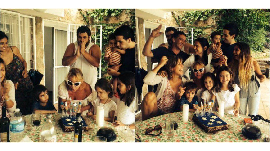 El divertido y familiar festejo de cumpleaños de Soledad Silveyra