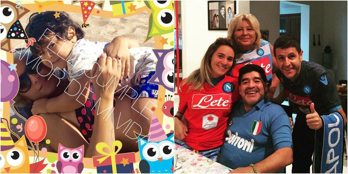 ¿Diego Maradona se olvidó del cumpleaños de Dieguito Fernando? Su mensaje en las redes