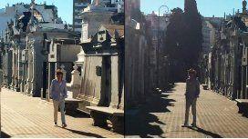 Un Rolling Stone suelto en el cementerio: el paseo de Mick Jagger por Recoleta