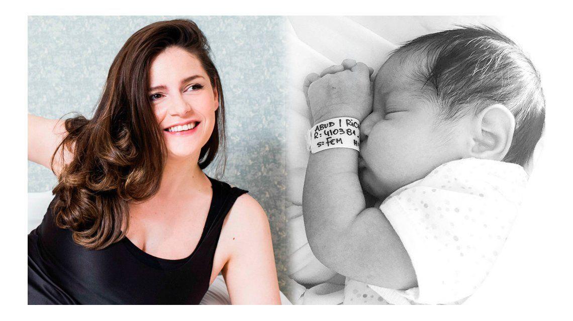 Romina Ricci fue mamá por tercera vez: nació Bethiana