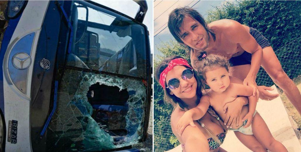 Después del accidente de Huracán, Patricio Toranzo se reencontró con Tamara Alves: Volver a tenerte a mi lado es el mejor regalo que me dio la vida