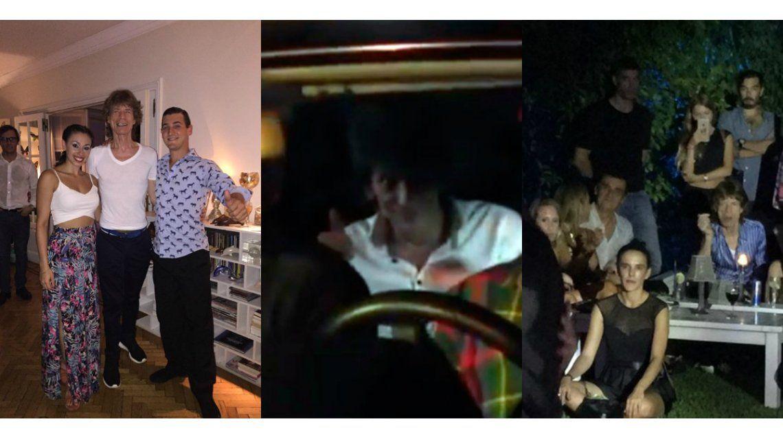 Los detalles íntimos de la cena de los Rolling Stones en la mansión de Marcela Tynaire