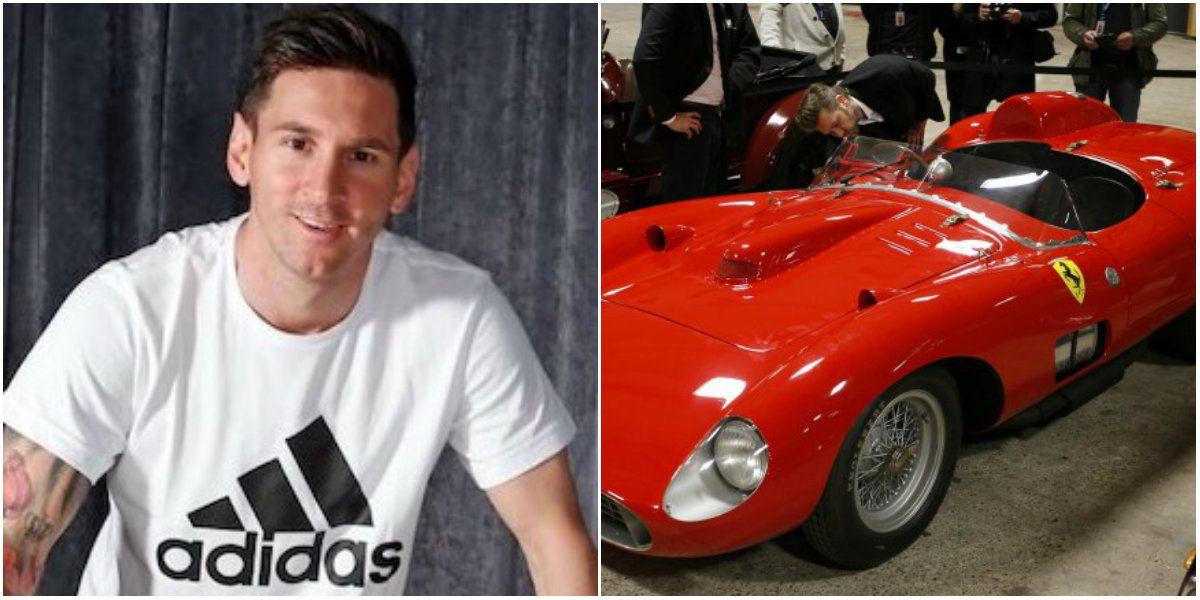 Lionel Messi participó de una subasta y se compró una Ferrari a más de 22 millones de dólares
