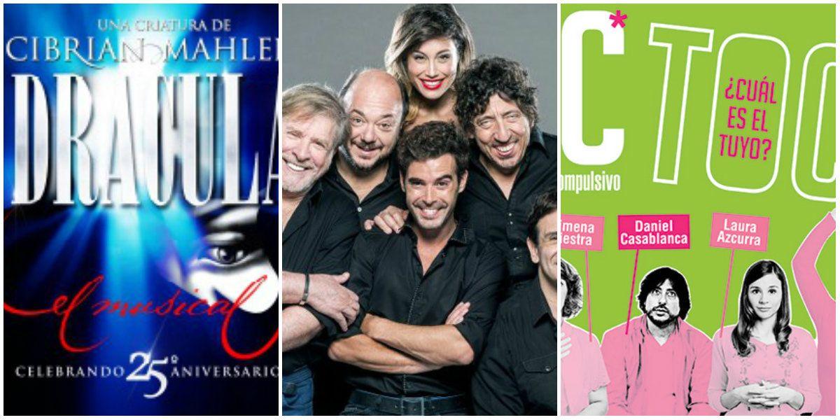 El ranking de las obras con mayor recaudación en Buenos Aires: Drácula, Toc Toc y El quilombero,  las más exitosas