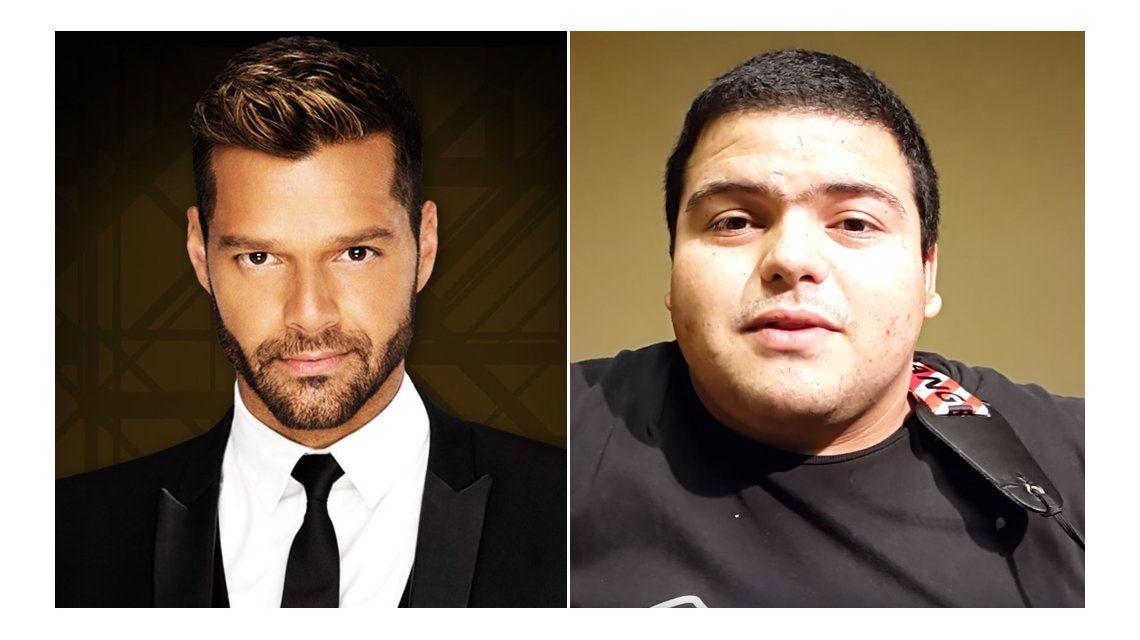 La morcillita, el video que se vuelve viral en plena visita de Ricky Martin al país