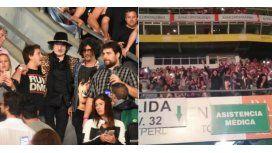 Charly fue ovacionado en el recital de los Rolling Stones en La Plata: mirá los videos