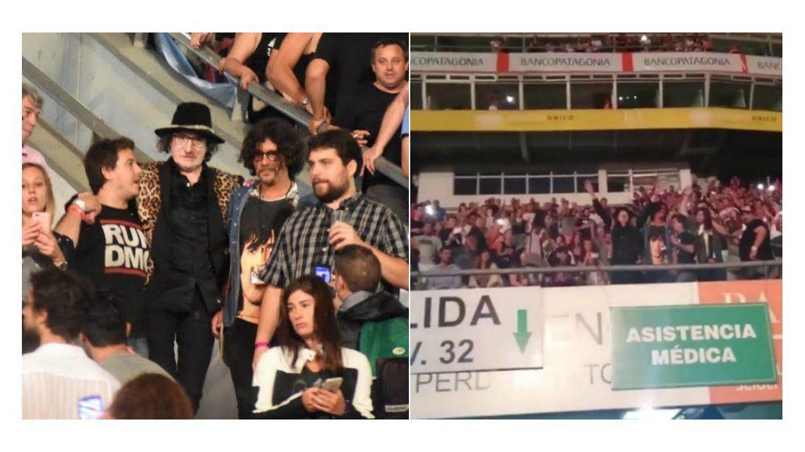 Charly García fue ovacionado en el recital de los Rolling Stones en La Plata: mirá los videos