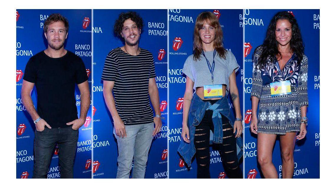 Los looks de los famosos en el primer show de los Rolling Stones en Argentina