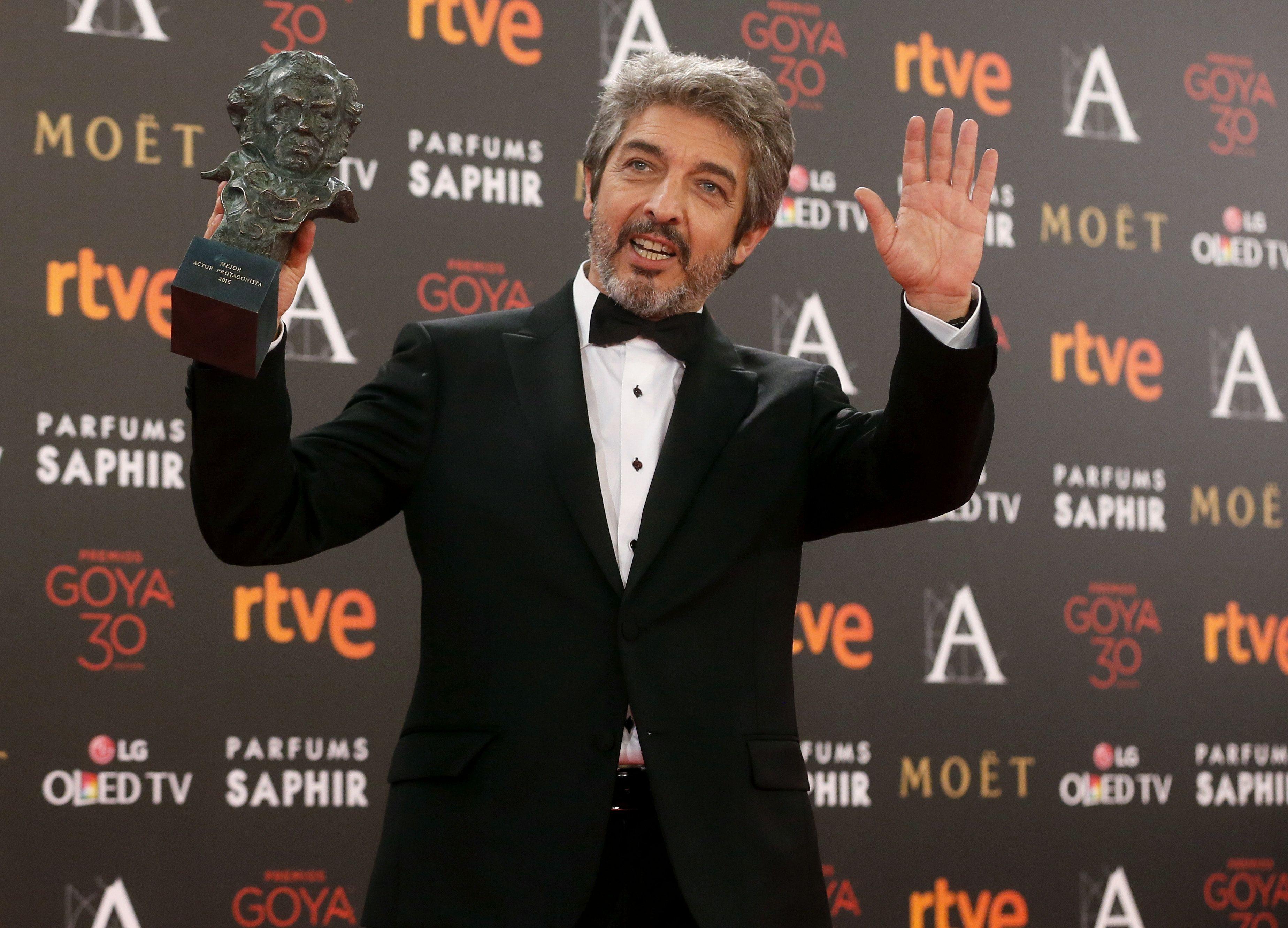 Feliz por los Premios Goya, Ricardo Darín se emocionó al hablar de su madre: escuchá el audio
